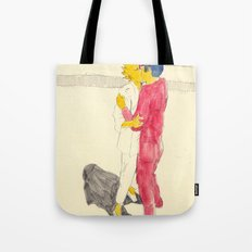 Lisa/kei/milhouse/kaneda - Bartkira Tote Bag
