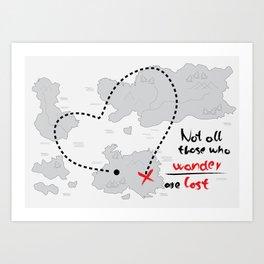 Wanderword Art Print