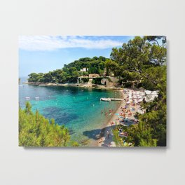 Paloma Beach Metal Print