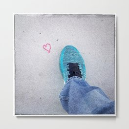 Step in the Name of Love Metal Print