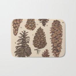 Pinecones Bath Mat
