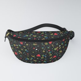 Good Luck Rooster - Just Pattern Fanny Pack
