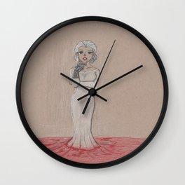 Tan Toned; The Countess (AMHS) Wall Clock