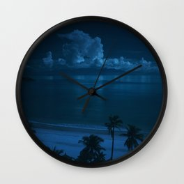 Ocean Storms Wall Clock