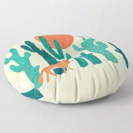 Desert fox Floor Pillow