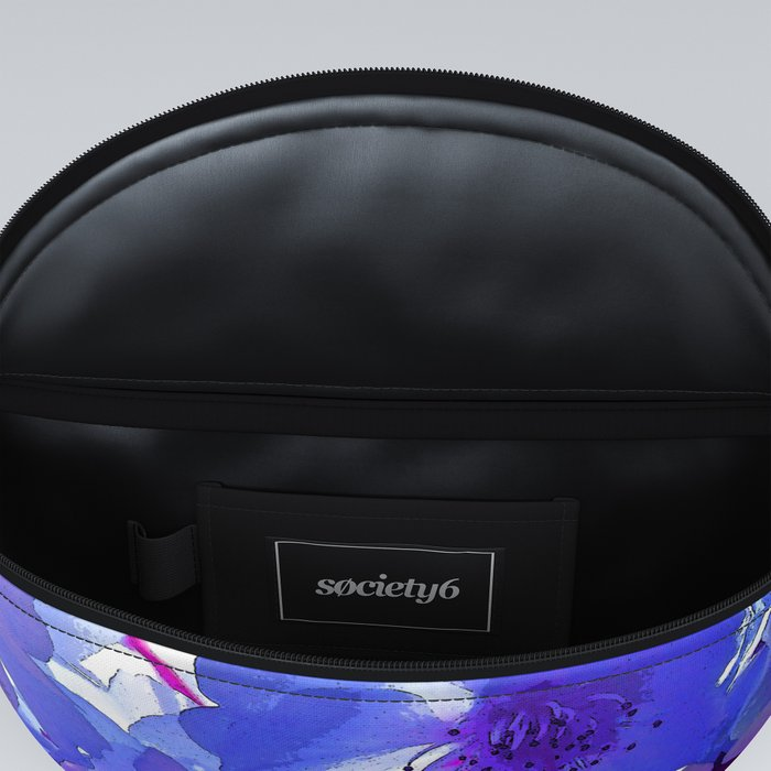 Blue Cherry Blossoms Fanny Pack