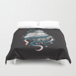 Scuba Diving Concept Duvet Cover
