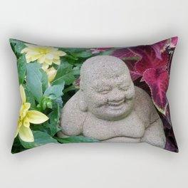 Happy Buddha Rectangular Pillow