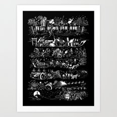 nightmare story Art Print