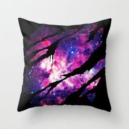 Deep Space Inside Throw Pillow