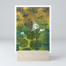 The Beekeeper Mini Art Print