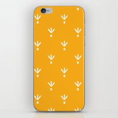 Doodle Leaves iPhone & iPod Skin