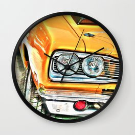 Pontiac GTO muscle car Wall Clock