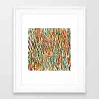 hippy Framed Art Prints featuring Hippy Style by thinschi