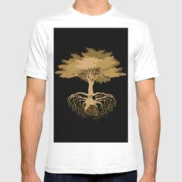 Heart Tree - Orange T-shirt