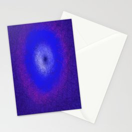 Blue Dimension Stationery Cards