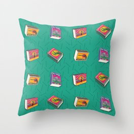 Great Indian Safety Matches Throw Pillow