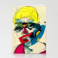 kandinsky Stationery Cards featuring 041112 by Alvaro Tapia Hidalgo