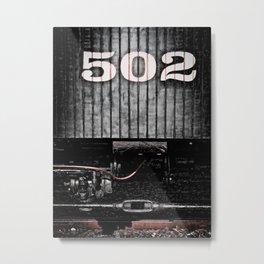 502 Metal Print
