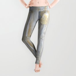 Metallic Abstract Leggings