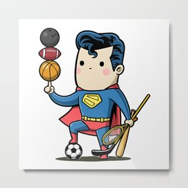 super sporty Metal Print