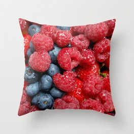 Berry Bonanza Throw Pillow