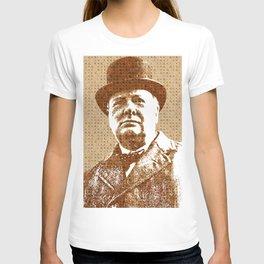 Scrabble Winston Churchill T-shirt