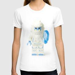 White Yeti Minifig eating an icecream T-shirt