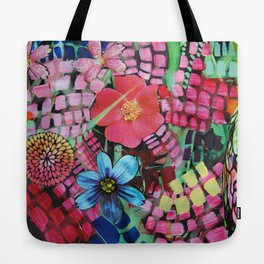 Garden Action Tote Bag