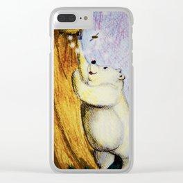 Honey Bear Clear iPhone Case