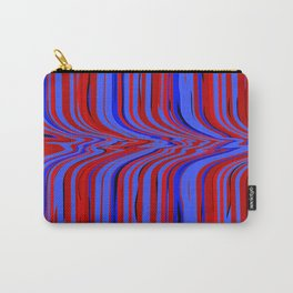 red and blue flowing Carry-All Pouch