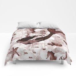 Under the Sea (Maroon) Part 2 Comforters