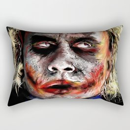 The Joker Painted Rectangular Pillow