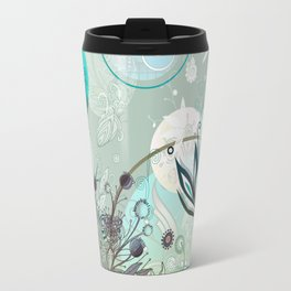 Floral collage Travel Mug