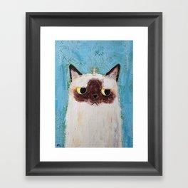 Caticorn 062 Framed Art Print