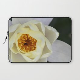 White Lilly 2 Laptop Sleeve