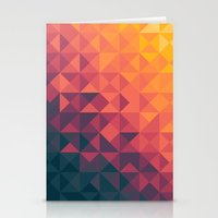 twilight Stationery Cards featuring Infinity Twilight by Picomodi