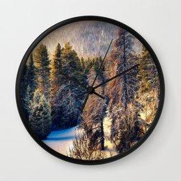 Terra Incognita by Lena Owens Wall Clock