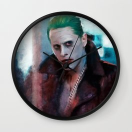 Scarface Juggalo aka The Joker - Suicide Squad Wall Clock