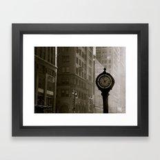 In Old New York. Framed Art Print
