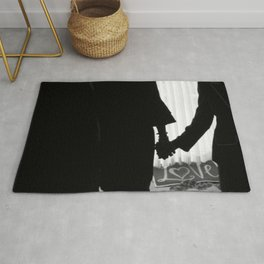 Couple Holding Hands Rug