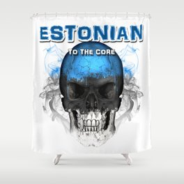 To The Core Collection: Estonia Shower Curtain