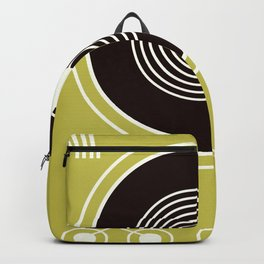 Vintage Record Player Backpack