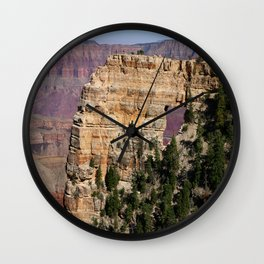 Angel's Window At Cape Royal Grand Canyon Wall Clock