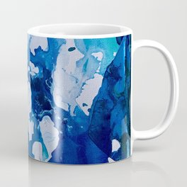 Orca Whale Marvels at the Melting Ice, Environmental # 4 Coffee Mug