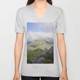 beautiful nature Unisex V-Neck