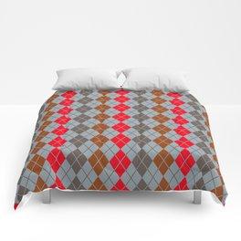 Shinbone's Gray Trench Dress 4 Comforters