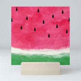 Watermelon Abstract Mini Art Print