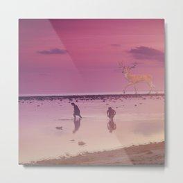 gili island sunset Metal Print