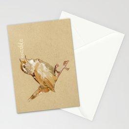 Bird Talk - Wren Stationery Cards